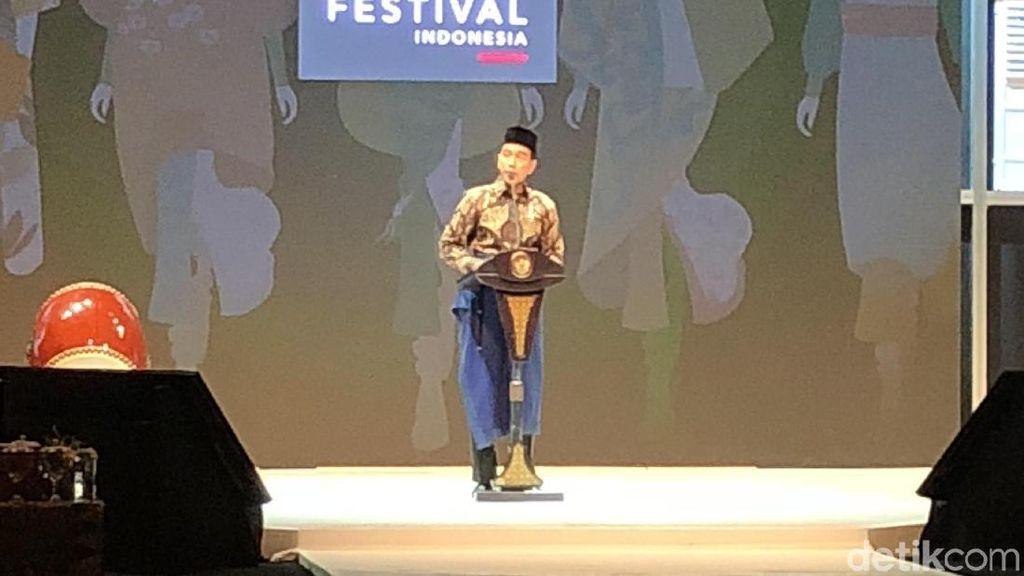 Jokowi Buka Gelaran Muslim Fashion Festival 2018