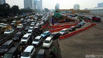 Imbas Proyek LRT, Gatsu Mengular Parah
