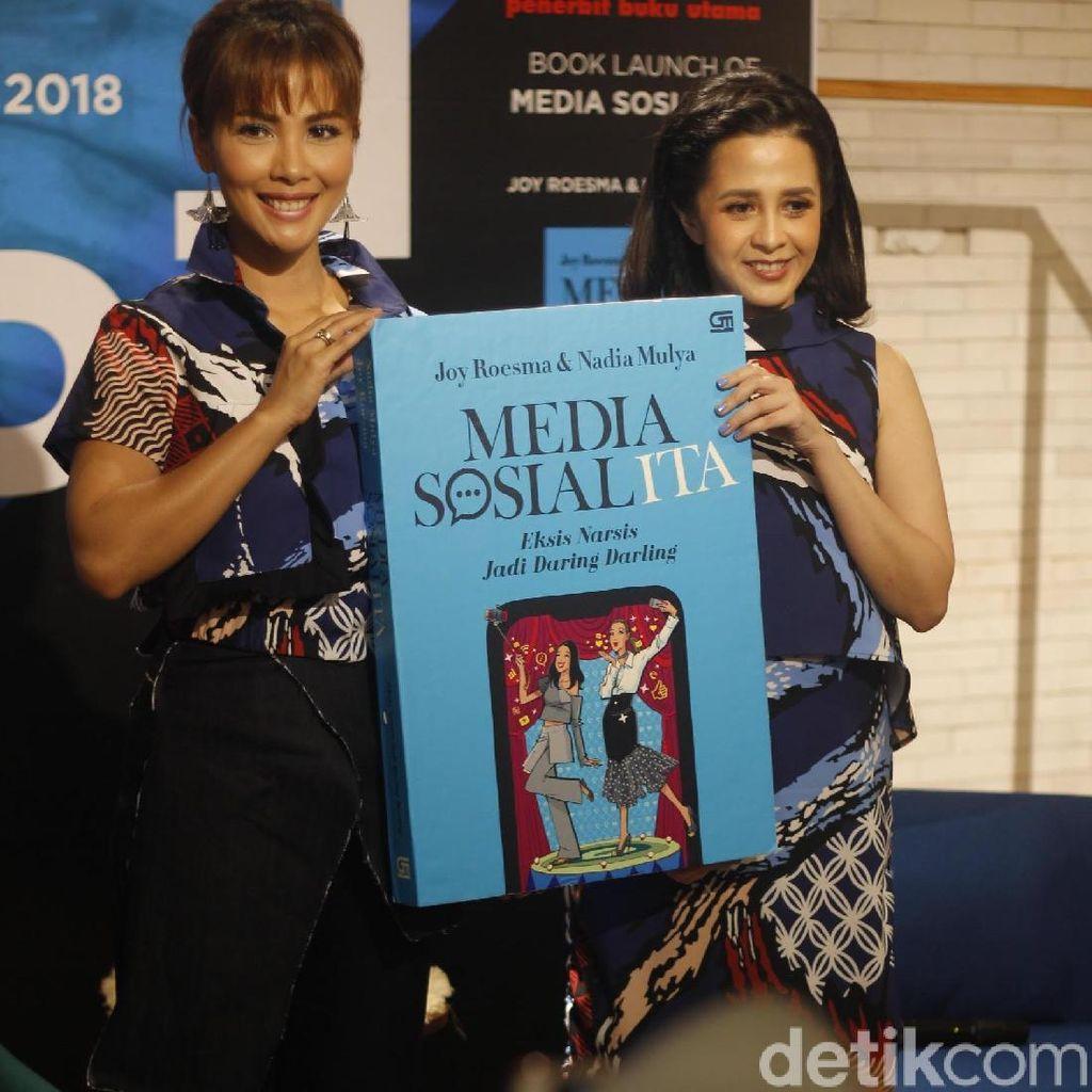 Nadia Mulya Ungkap Fenomena Pencitraan di Medsos Lewat Media Sosialita