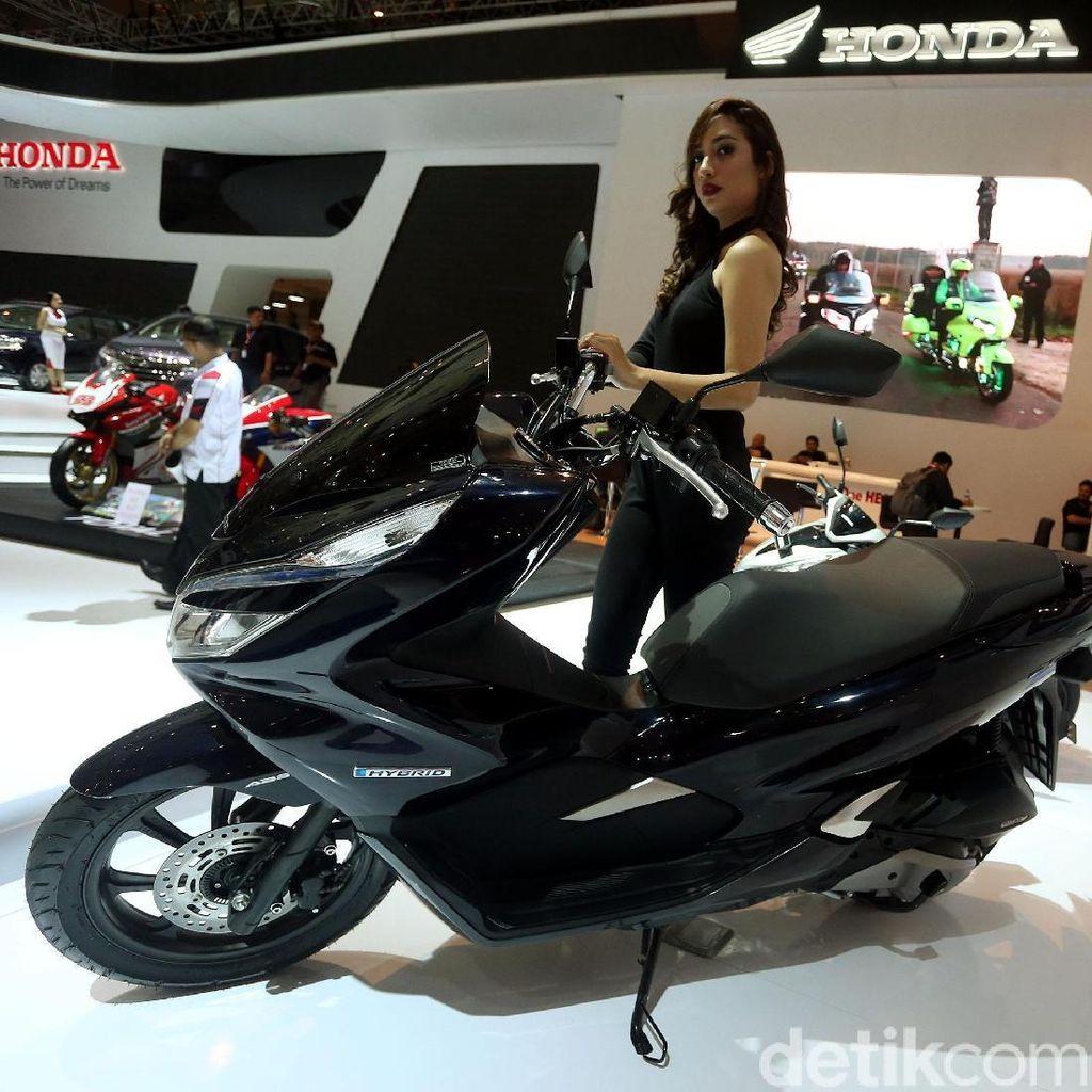 IIMS 2018: Honda Bawa PCX Hybrid untuk Orang-orang Ini