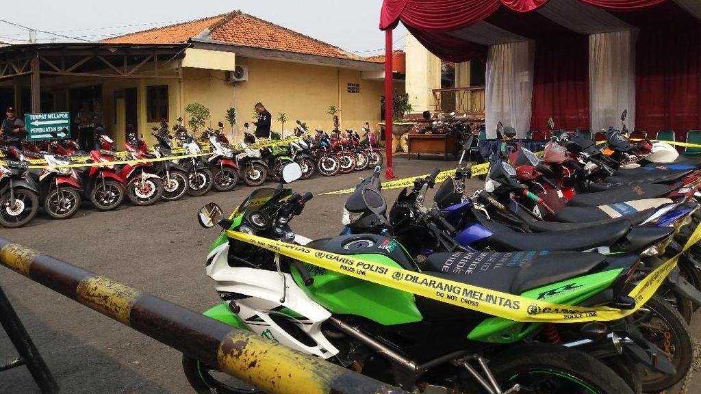 Pencuri Motor di Jakbar Hanya Butuh 20 Detik untuk Beraksi
