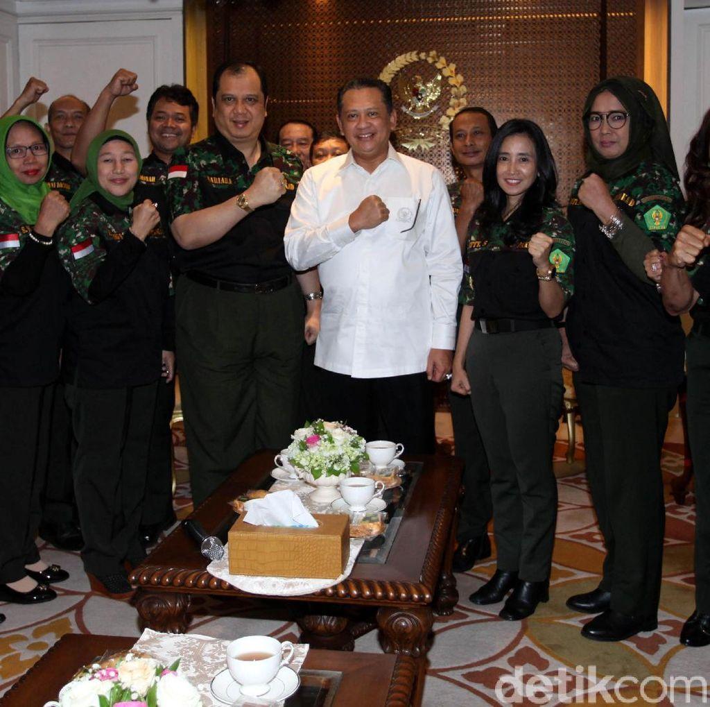 Bambang Soesatyo Terima Kunjungan Hipakad