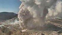 Gunung James Bond di Kyushu Jepang Meletus