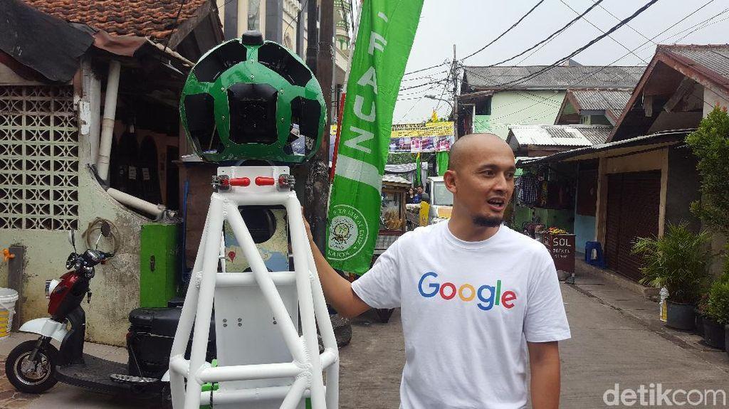Mengintip Cara Google Rekam Jalan Tikus di Jakarta