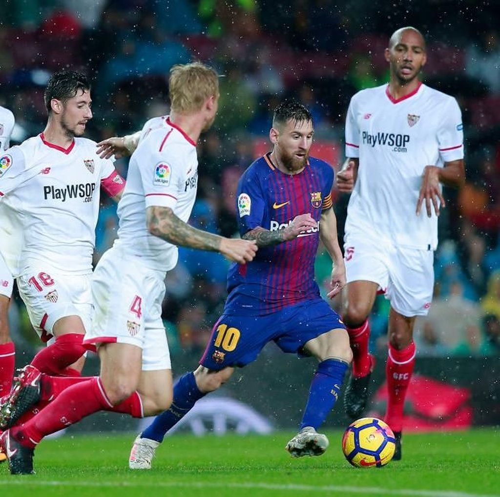 Enggan Tekel Messi, Bek Sevilla Takut Tak Bisa Pulang ke Argentina