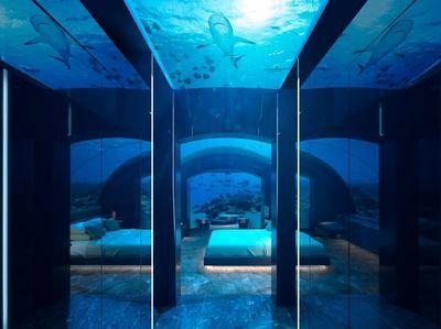 Foto: Hotel Bawah Laut Pertama Dunia di Maldives