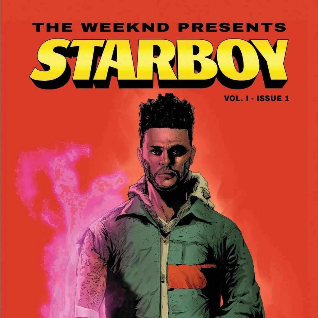 The Weeknd Jadi Superhero di Komik Marvel Starboy