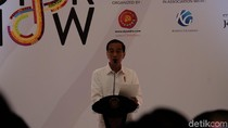 Soal Industri 4.0, Jokowi: Mungkin Tukang Sapu akan Diganti Robot