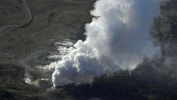 Penampakan Erupsi Gunung 'James Bond' di Jepang