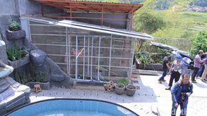 Rumah Mewah Big Bos Miras Disegel, Burung Samsudin Mati