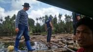 Usut Tuntas Siapa Pemilik Ribuan Kayu Tak Bertuan di Sungai Musi