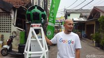 Google Street View Mulai Rekam Jalan Tikus di Jakarta