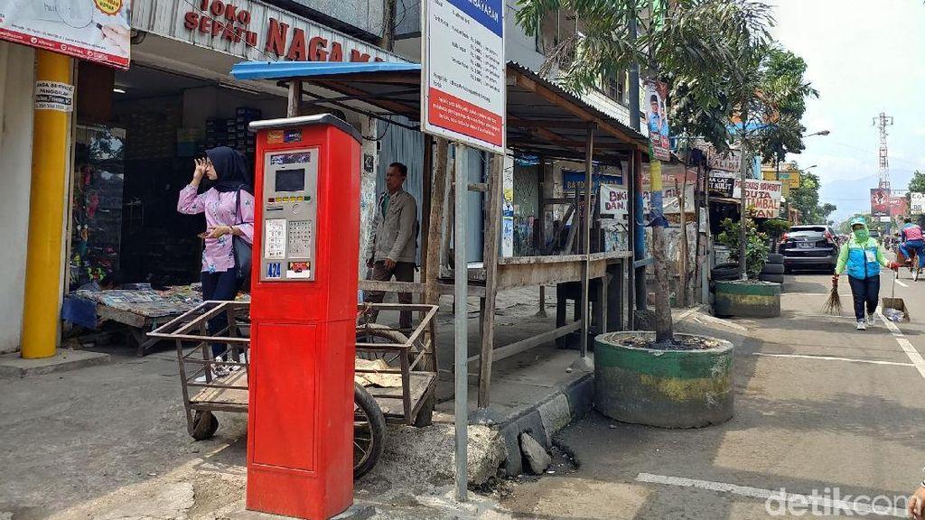 Lima Bulan Beroperasi Mesin Parkir Bandung Hasilkan Rp 1,4 M