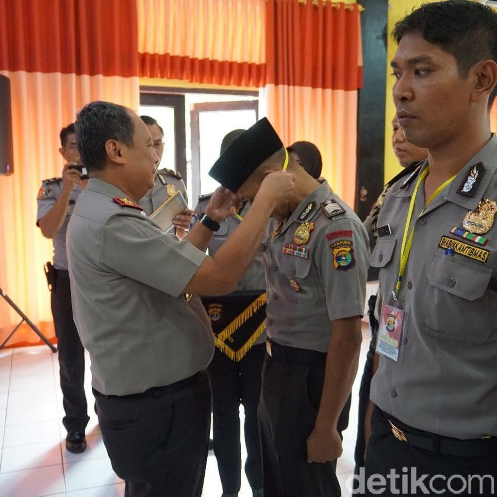Saat Polisi Lampung Ikut Lomba Khotbah Agama