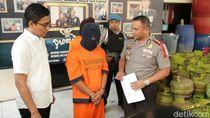 Sindikat Pengoplos Elpiji di Kabupaten Malang Dibekuk