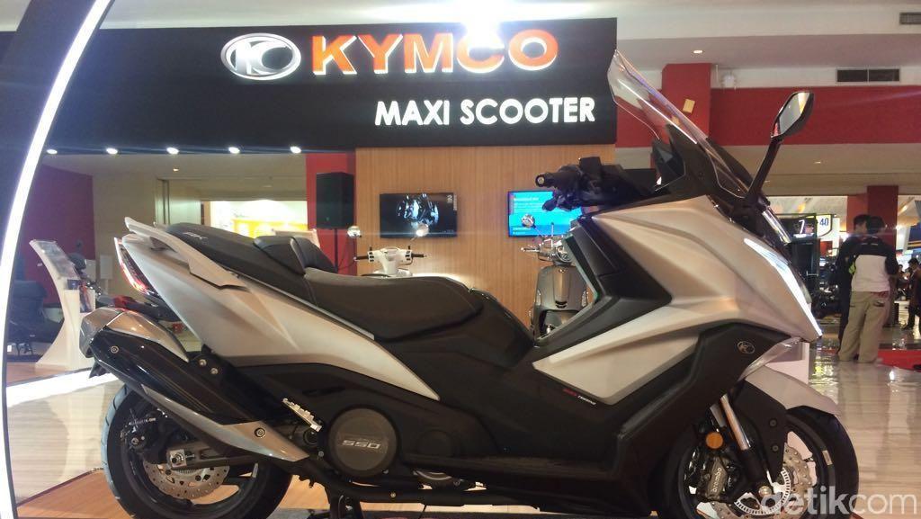Kymco AK 550 Siap Tantang Yamaha T-Max