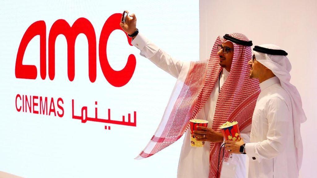 Foto: Suasana Peresmian Bioskop Pertama di Arab Saudi