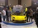 Kuning Mentereng, Lamborghini Rp 18 Miliar Mejeng di IIMS 2018