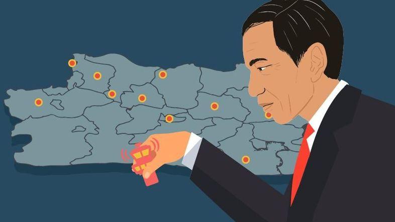 Jokowi Genjot Infrastruktur di Jabar, Dongkrak Elektabilitas