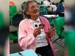 Foto: Dona Lupita, Nenek yang Masuk SMA di Usia 96 Tahun