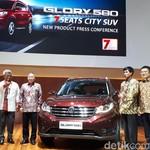 SUV China Glory 580 Dirilis, Garansinya Super Lama sampai 7 Tahun