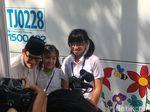 Anak Berkebutuhan Khusus Lukis TransJ, Sandi: Semoga Jadi Inspirasi