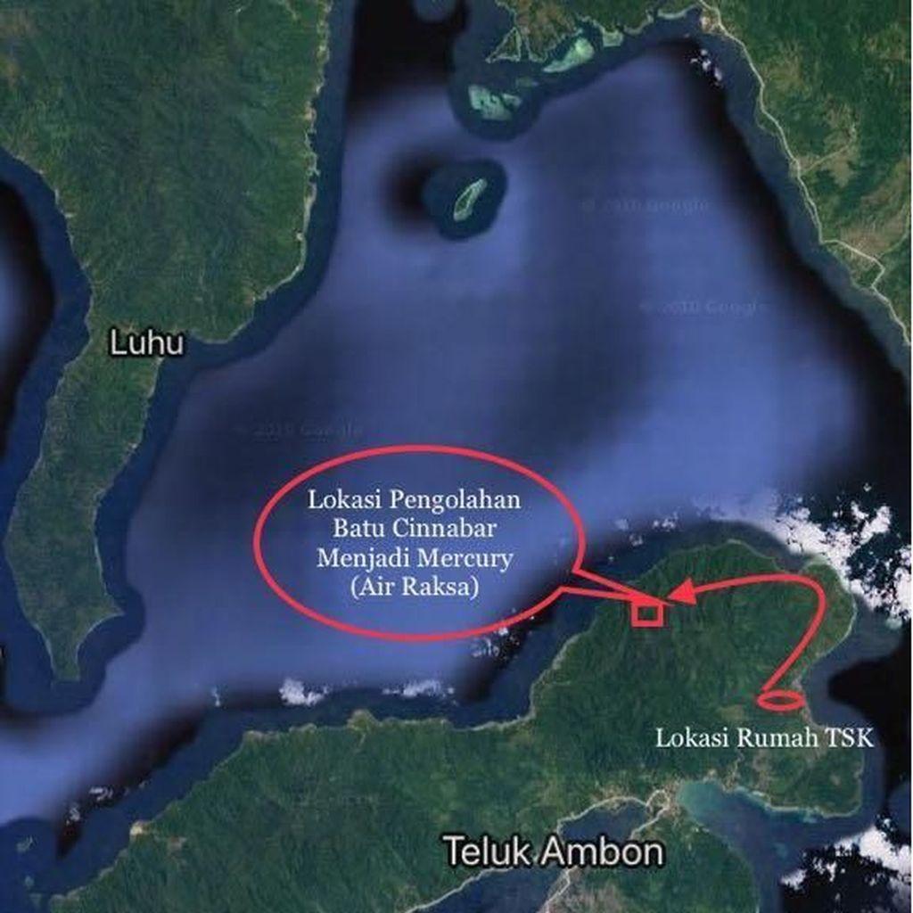 Penyulingan Merkuri di Hutan Maluku Dibongkar, Pasutri Ditangkap