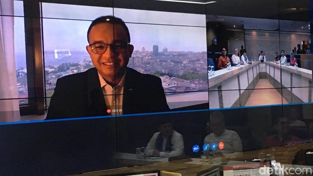 Dari Istanbul, Anies Teleconference dengan Sandi Bahas Sense-Exotic
