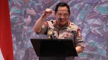 Kapolri-Panglima TNI Beri Pengarahan ke 3.000 Prajurit di Medan