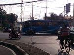 Awas! Ada Kabel Listrik Menjuntai di Jalan Pakin Pluit