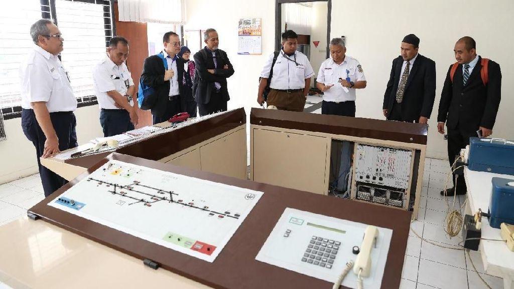 Malaysia Belajar Perkeretaapian ke Indonesia
