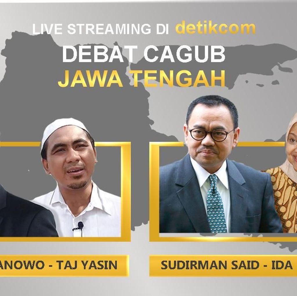 Kesiapan 2 Paslon Pilgub Jateng Jelang Debat