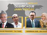 Debat Terbuka Pilgub Jateng: Tidak Boleh Serang Personal Paslon
