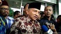 Sandi Tanggapi Ulah Amien yang Ledek Jokowi di Balai Kota