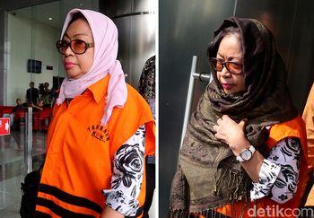 Unik, Tahanan Ini Masuk dan Keluar Gedung KPK dengan Jilbab Berbeda