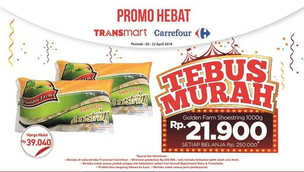 Dua Produk Ini Lagi Promo Tebus Murah di Transmart Carrefour