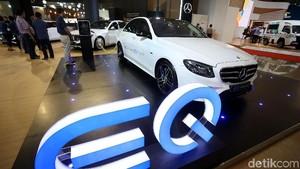 Mercedes-Benz Pamer Mobil Listrik EQ di IIMS 2018