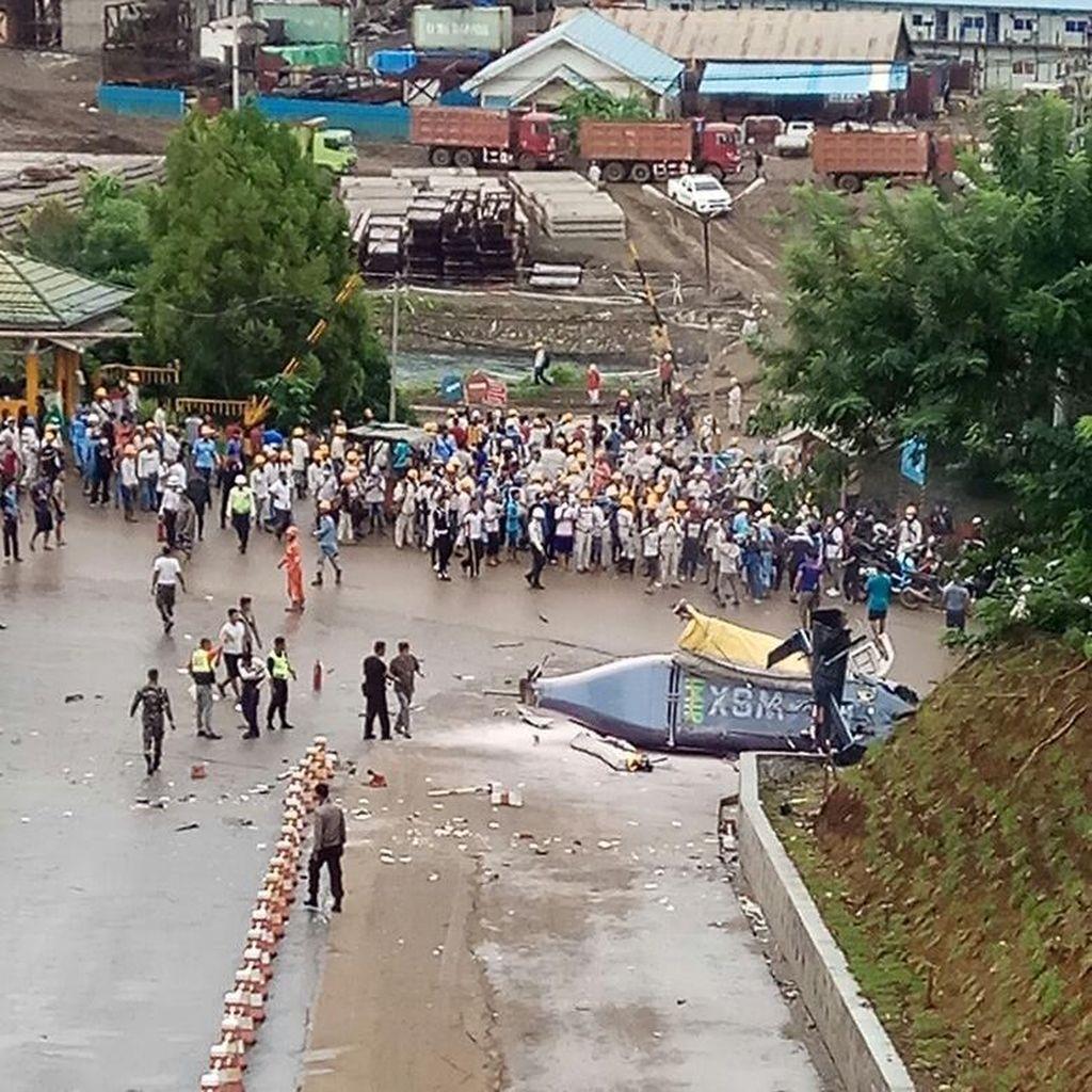 Kronologi Heli Jatuh di Morowali yang Angkut Warga China