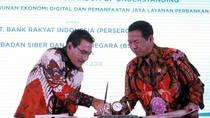 BRI Gandeng BSSN Tingkatkan Ekonomi Digital