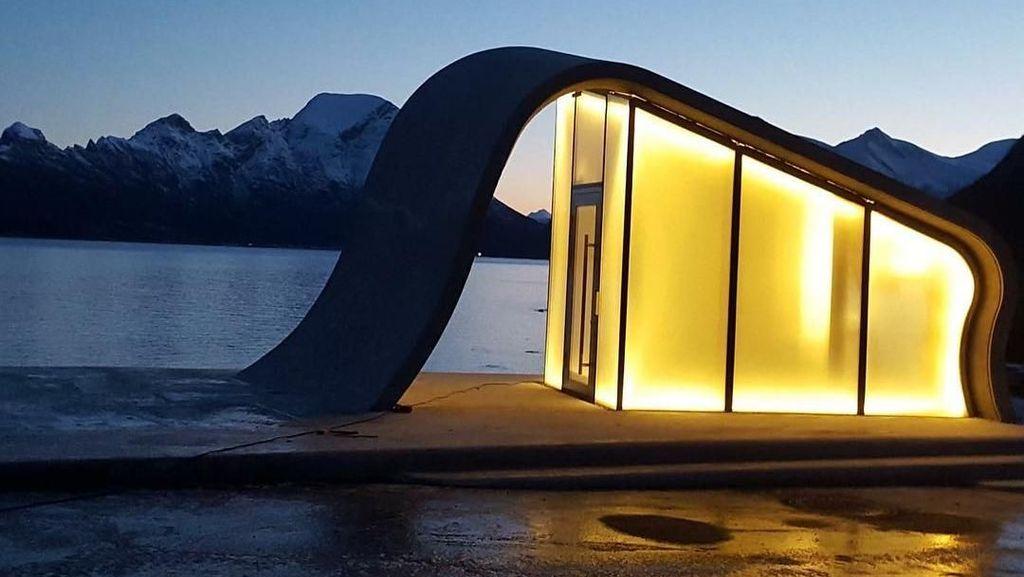 Foto: Toilet Umum Terindah di Dunia