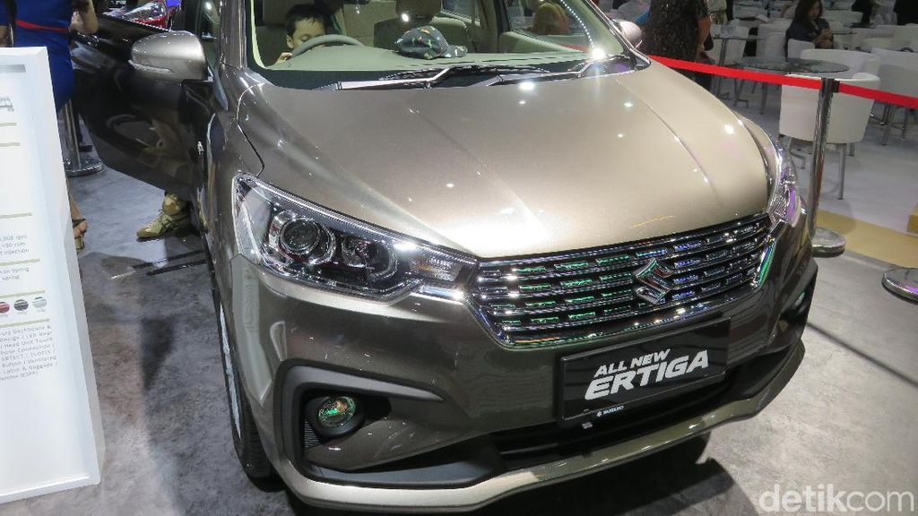 IIMS 2018: Suzuki Berikan Diskon Besar-besaran untuk Ertiga Lawas