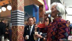 Bos IMF dan Sri Mulyani Minum Kopi Khas Indonesia