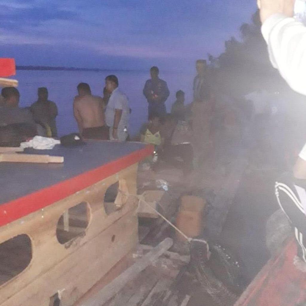 Kapal Kapolres Labuhanbatu Tenggelam Usai ke Pernikahan Anak Bupati