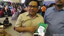 Cak Imin Kunjungi Pameran Buku di JCC Beli Buku Quraish Shihab
