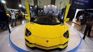 Eksotisnya Lamborghini Kuning Seharga Rp 18 Miliar di IIMS 2018