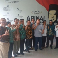 Cagub Lampung Arinal Dukung Pemekaran Sungkai Bunga Mayang