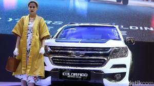 Gaharnya Chevrolet Colorado Centennial di Ajang IIMS 2018