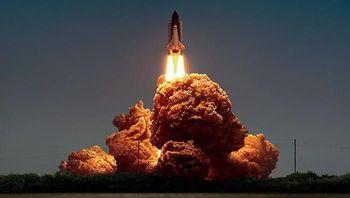 Foto Ledakan? Bukan Itu Iklan Ayam Goreng