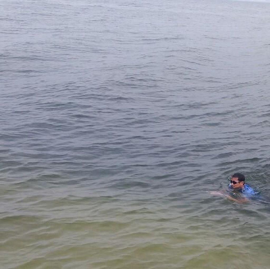 Launching Pariwisata, Sandi Renang ke Dermaga Pulau Bidadari