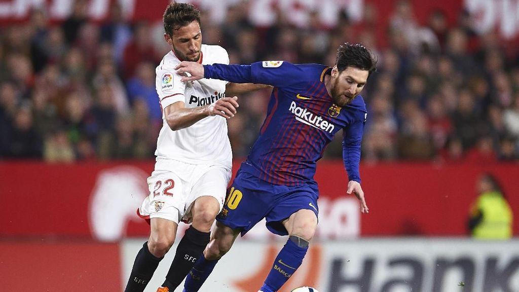 Sevilla Harus Cegah Messi Terima Bola, Pede Kalahkan Barca